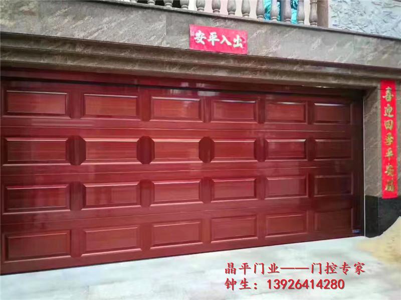 铝合金翻板车库门