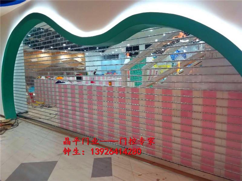 东莞某商场的水晶电动卷闸门案例
