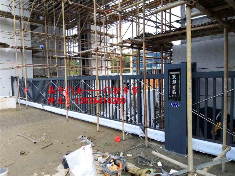 江西灨洲某矿安装的悬浮门